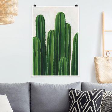 Poster - Lieblingspflanzen - Kaktus - Hochformat 3:2