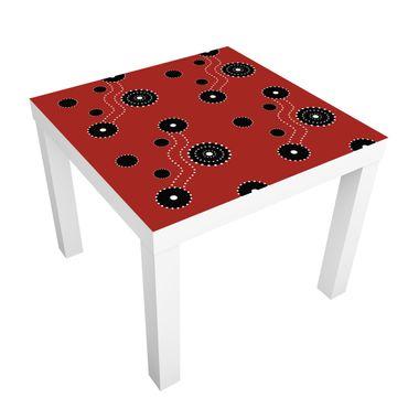 Möbelfolie für IKEA Lack - Klebefolie Aboriginal Ornament