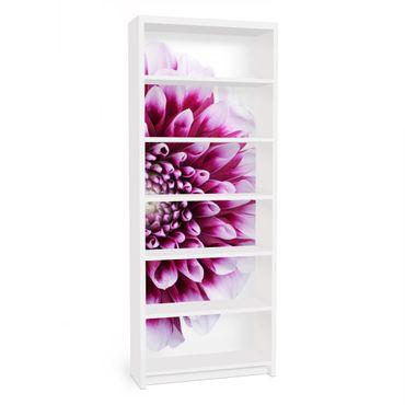 Möbelfolie für IKEA Billy Regal - Klebefolie Aster