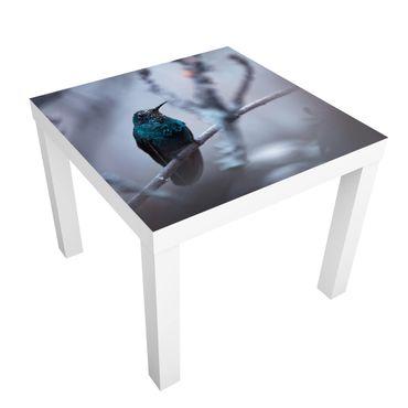 Beistelltisch - Kolibri im Winter