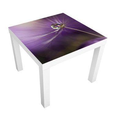 Beistelltisch - Pusteblume in Violett