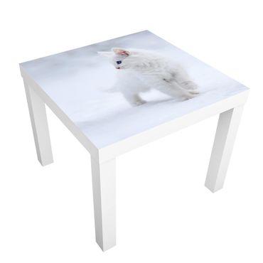 Beistelltisch - Weiß wie Schnee