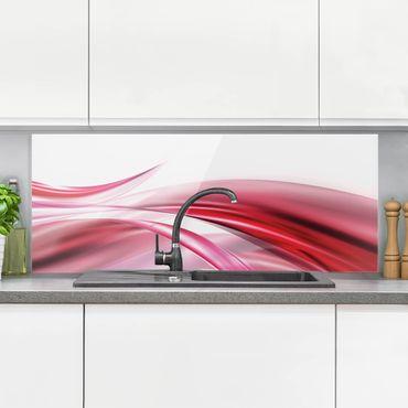 Spritzschutz Glas - Pink Dust - Panorama - 5:2
