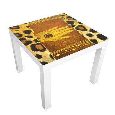 Möbelfolie für IKEA Lack - Klebefolie African Feelings