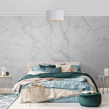 Metallic Tapete  - Bianco Carrara