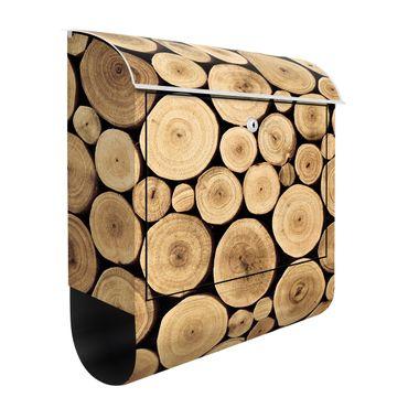 Briefkasten Holz - Homey Firewood - Wandbriefkasten