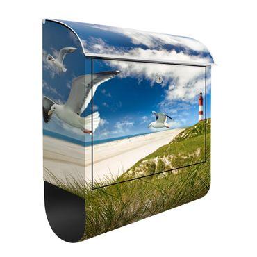Briefkasten mit Zeitungsfach - Dune Breeze - Hausbriefkasten