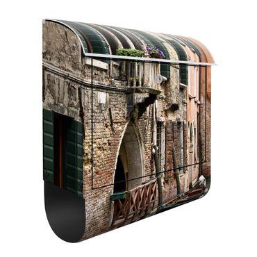 Briefkasten mit Zeitungsfach - Parking Venice - Wandbriefkasten