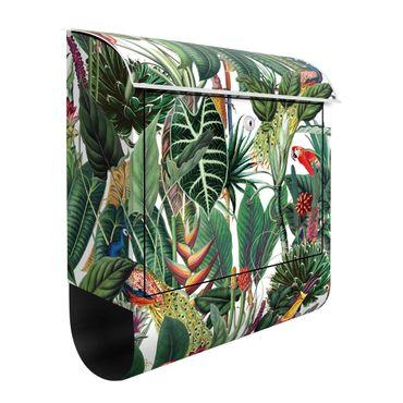 Briefkasten - Bunter tropischer Regenwald Muster