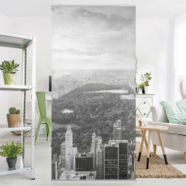 Raumteiler - Blick über den Central Park II 250x120cm