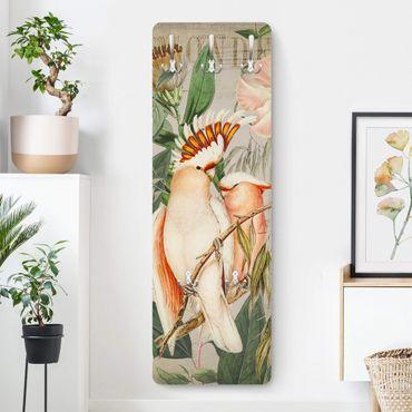 Garderobe - Colonial Style Collage - Rosa Kakadu
