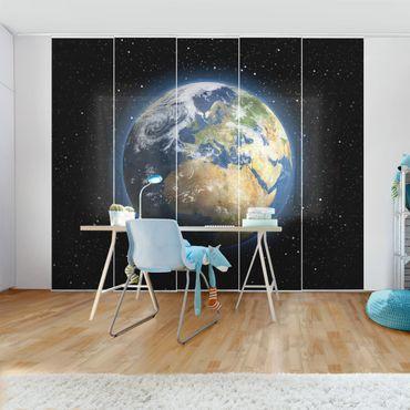 Schiebegardinen Set - My Earth - Flächenvorhänge