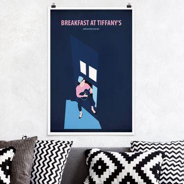 Poster - Filmposter Breakfast at Tiffany´s - Hochformat 3:2