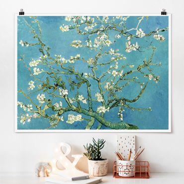 Poster - Vincent van Gogh - Mandelblüte - Querformat 3:4