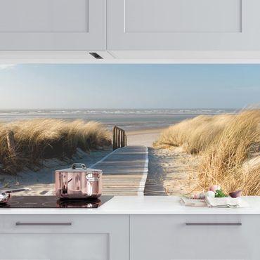 Küchenrückwand - Ostsee Strand