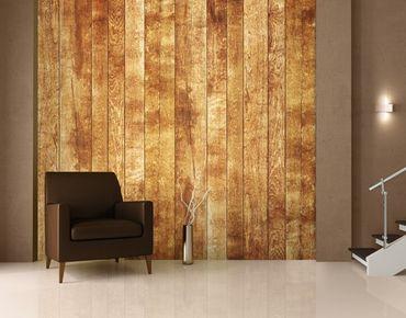 "Papiertapete - Fototapete Holz No.191 ""SCANDINAVIA WOODWALL"" 300x280cm"