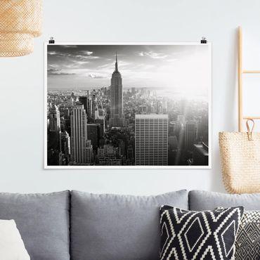 Poster - Manhattan Skyline - Querformat 3:4