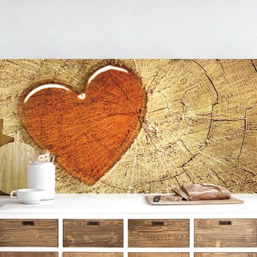 Küchenrückwand - Natural Love