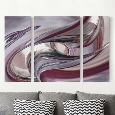 Leinwandbild 3-teilig - Illusionary - Triptychon