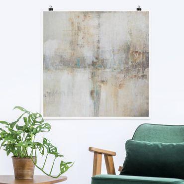 Poster - Essenz I - Quadrat 1:1