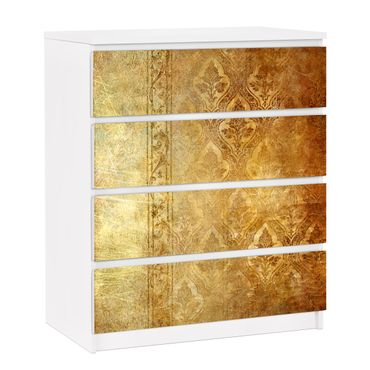 Möbelfolie für IKEA Malm Kommode - selbstklebende Folie The 7 Virtues - Faith