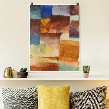 Poster - Paul Klee - Einöde - Hochformat 3:4