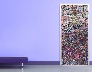 "Fototapete Tür - Papier No.21 ""JULIET'S WALL"" 100x210cm"