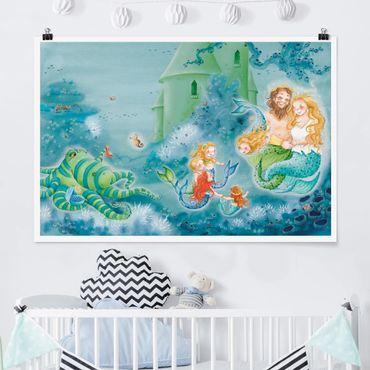 Poster - Das Seepferdchen darf bleiben - Querformat 2:3