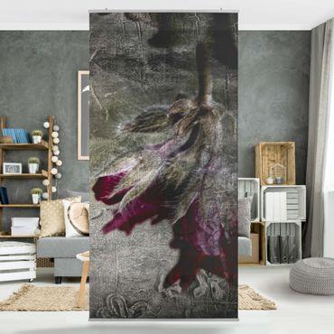 Raumteiler - Mystic Flower 250x120cm