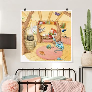 Poster - Frida erzählt vom Hexentreffen - Quadrat 1:1