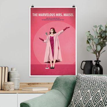 Poster - Filmposter The marvelous Mrs Maisel - Hochformat 3:2