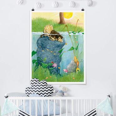 Poster - Pony Leo - Hochformat 3:4