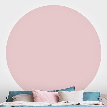 Runde Tapete selbstklebend - Colour Rose
