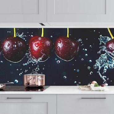 Küchenrückwand - Frische Kirschen