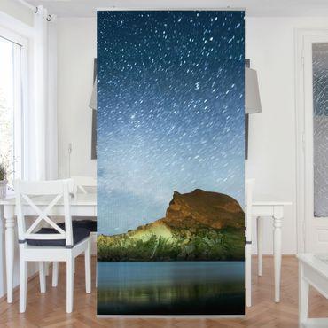 Raumteiler - Sternenhimmel 250x120cm