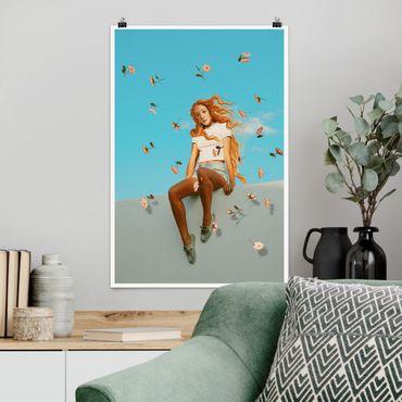 Poster - Jonas Loose - Retro Venus - Hochformat 3:2