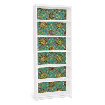 Möbelfolie für IKEA Billy Regal - Klebefolie Ethno Design