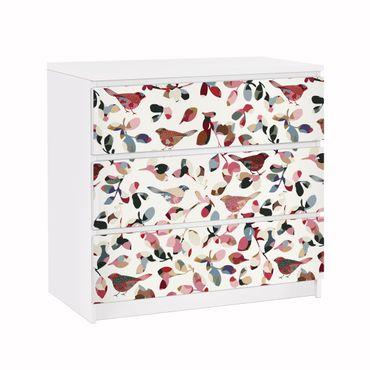 Möbelfolie für IKEA Malm Kommode - Klebefolie Look Closer