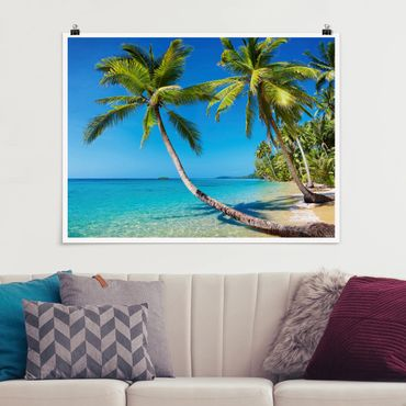 Poster - Beach of Thailand - Querformat 3:4
