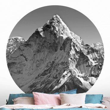Runde Tapete selbstklebend - Der Himalaya II