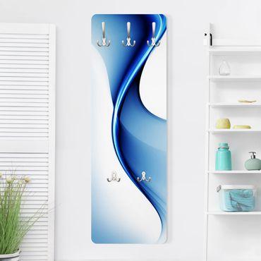 Design Garderobe - Blaue Wandlung - Blau