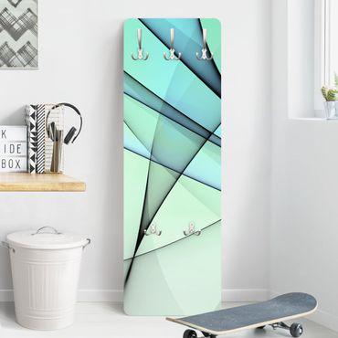 Design Garderobe - Evolution - Blau