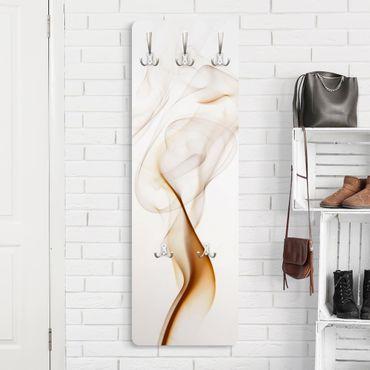 Design Garderobe - London Lounge - Weiß Braun