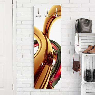 Design Garderobe - Stunning Gold Style - Braun