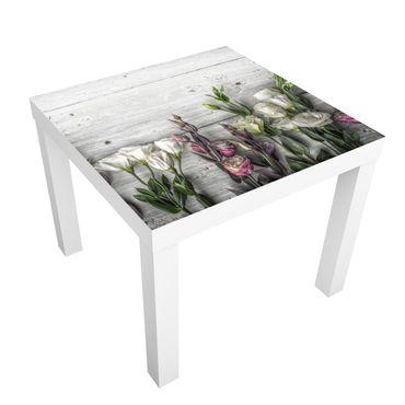 Beistelltisch - Tulpen-Rose Shabby Holzoptik