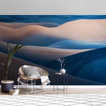 Metallic Tapete  - Die Farben der Wüste