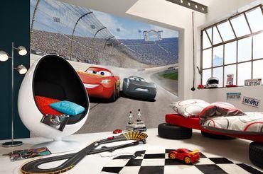 Disney Cars 3 Kindertapete - Kurve - Komar Fototapete