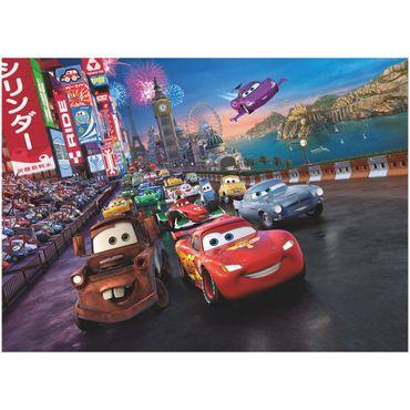 Cars Tapete - Race - Komar Fototapete Disney
