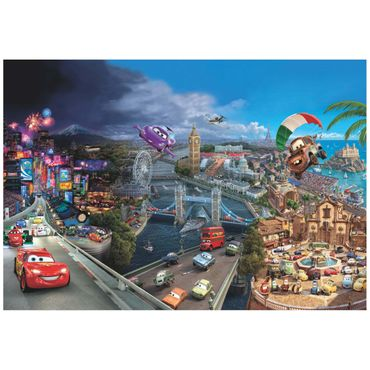 Cars Tapete - World - Komar Fototapete - Disney