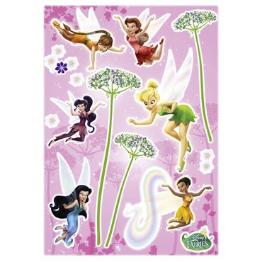 Disney Fairies Wandtattoo - Feen Set - Komar Deco-Sticker